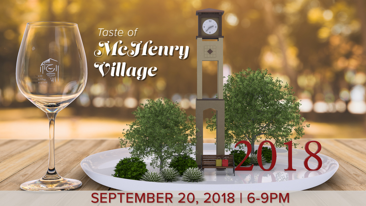 2018 Tast of McHenry Event Banner